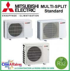 Mitsubishi Unités Extérieures Bi-splits - STANDARD - R32 - MXZ-2F33VF3 / MXZ-2F42VF3 / MXZ-2F53VF3