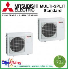 Mitsubishi Unités Extérieures - Quadri-splits - STANDARD - R32 - MXZ-4F72VF3 / MXZ-4F80VF3