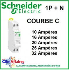 Disjoncteur Schneider Electric - COURBE C - XP 1P + N (10 à 32 Ampères)