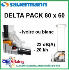 Pompe de relevage - Sauermann - DELTA PACK 80 x 60 IVOIRE / BLANC (20l/h)