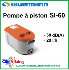 Pompe de Relevage à bac - Sauermann - SI-60 (20l/h)