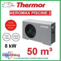 Pompe à chaleur pour piscine THERMOR - AEROMAX PISCINE 2 - 8 kW (50 m³)