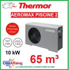 Pompe à chaleur pour piscine THERMOR - AEROMAX PISCINE 2 - 10 kW (65 m³)