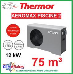 Pompe à chaleur pour piscine THERMOR - AEROMAX PISCINE 2 - 12 kW (75 m³)