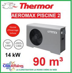 Pompe à chaleur pour piscine THERMOR - AEROMAX PISCINE 2 - 14 kW (90 m³)