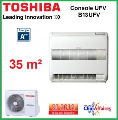 Toshiba - Console Double Flux UFV - RAS-B13UFV-E1 + RAS-13N3AV2-E1 (3.5 kW)